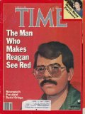 Time Magazine March 31, 1986 - The Man Who Makes Reagan See Red - Money, Money Everywhere
