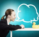 woman-conversing-with-duck