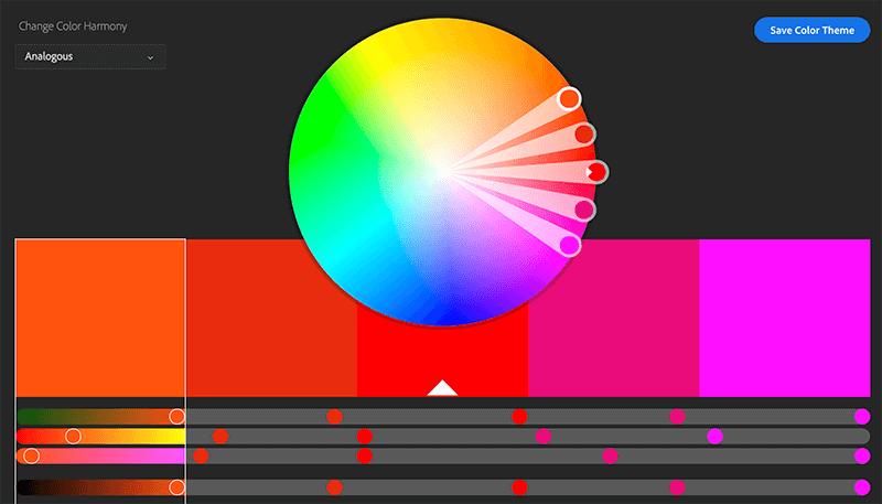 analagous color palette