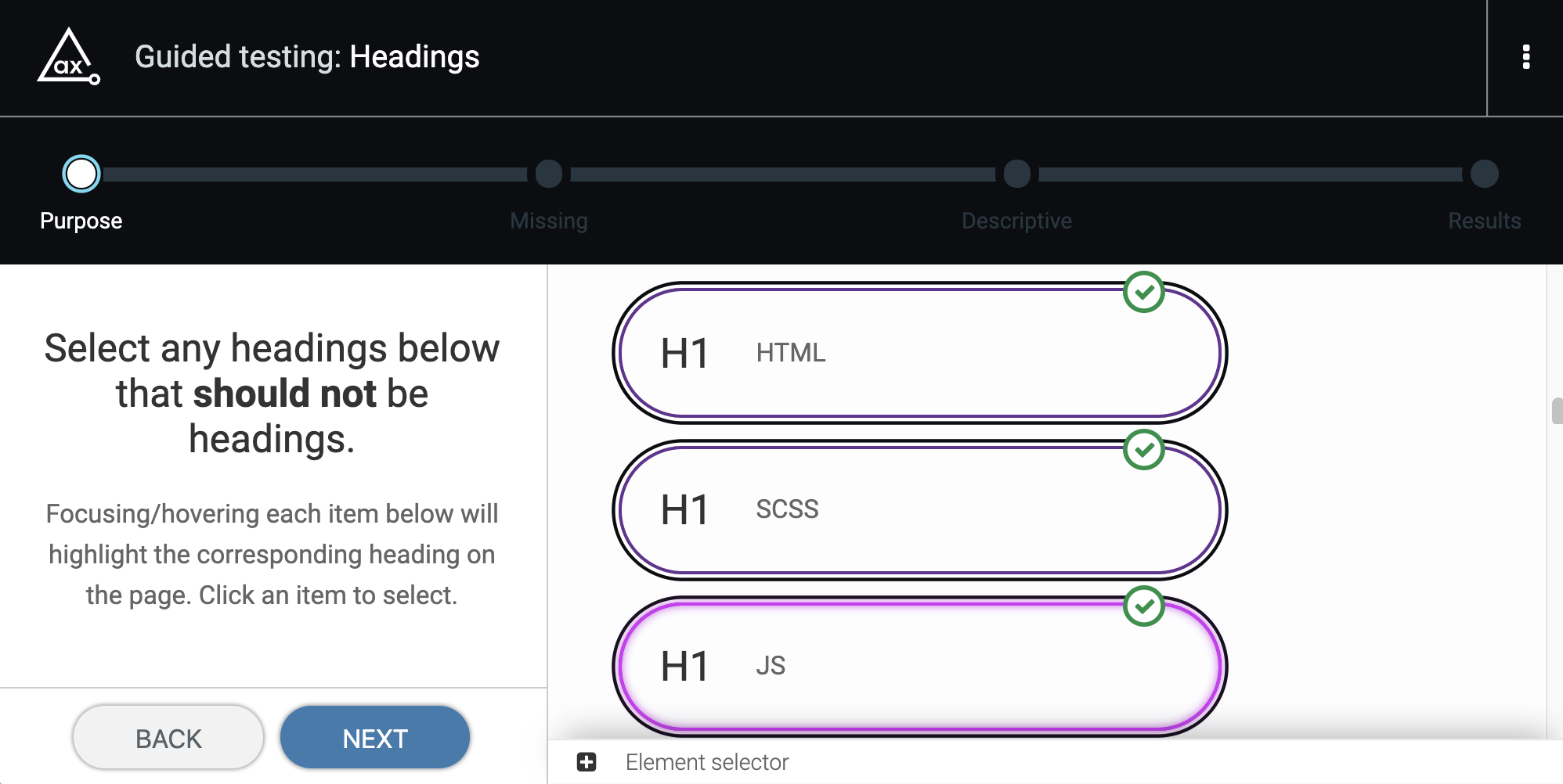 Step 2: Identify headers that shouldn't be.