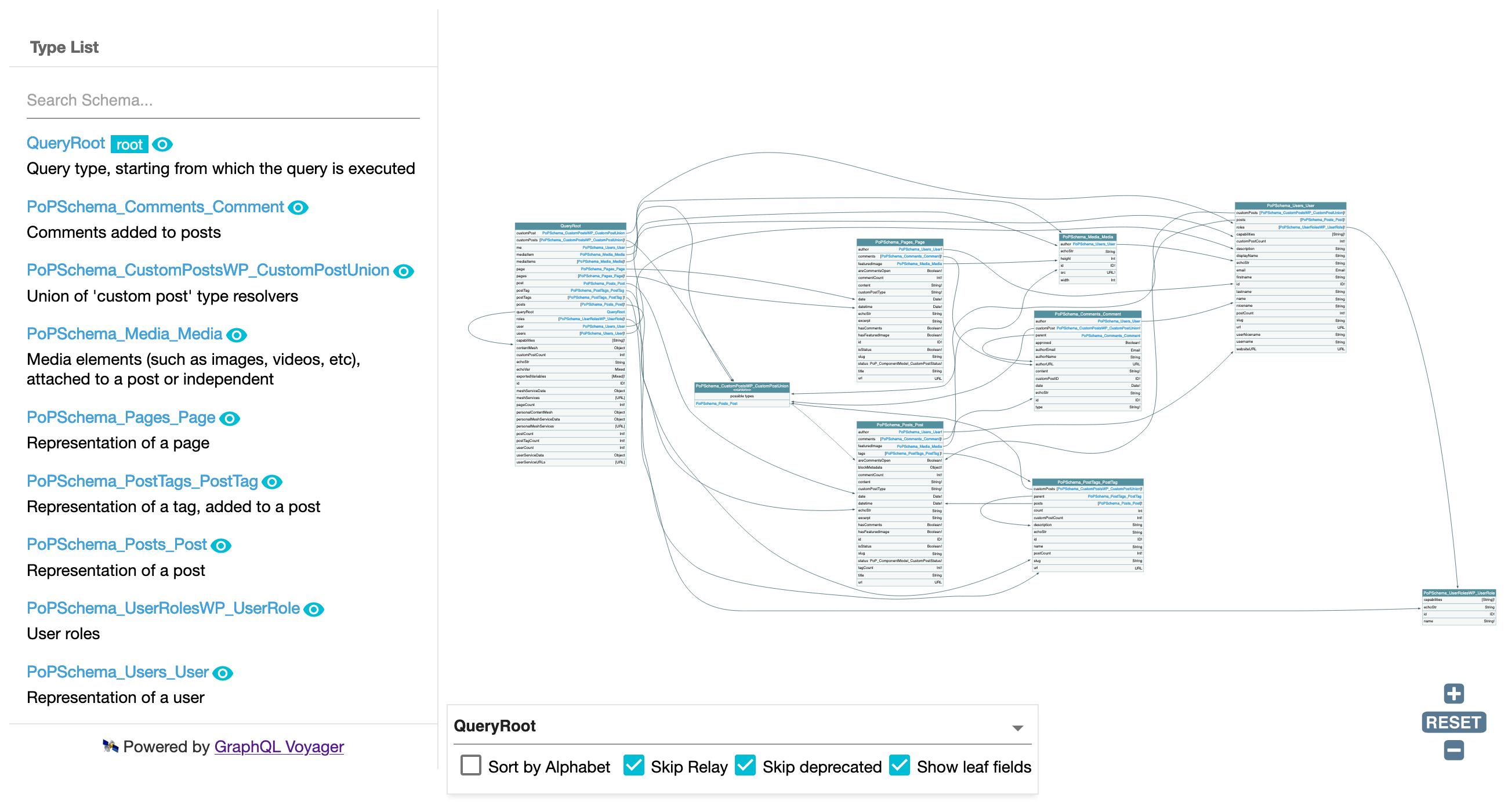 Namespaced GraphQL schema