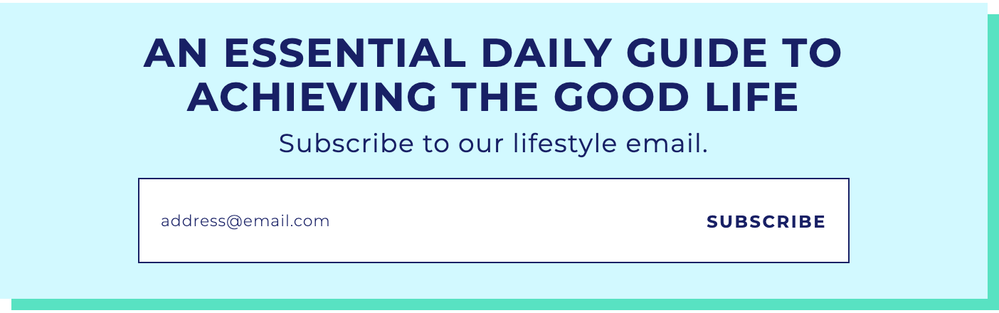 Huffpost newsletter signup form